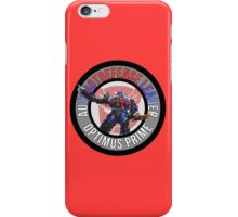Optimus Prime Autobot Leader iPhone Case/Skin