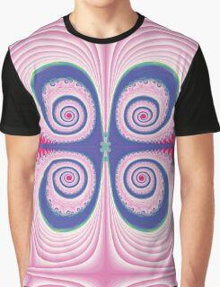 Pale Swirls Graphic T-Shirt