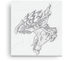 Roar of the Rathalos! Canvas Print