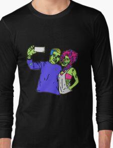 Zombie Selfie Long Sleeve T-Shirt