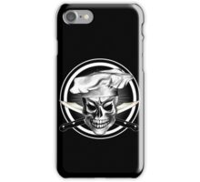 Chef Skull Black 3 iPhone Case/Skin