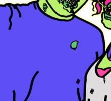 Zombie Selfie Sticker