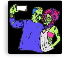 Zombie Selfie Canvas Print