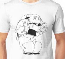Master Roshi Reading His Magazines Unisex T-Shirt