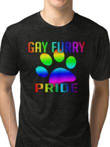 Gay Furry Pride Tri-blend T-Shirt