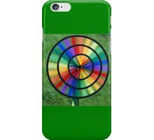 Rainbow created by wind iPhone Case/Skin