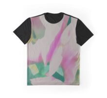 Abstract Pastel Tulips Graphic T-Shirt