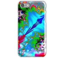 Colorful Abstract Fractal Art iPhone Case/Skin