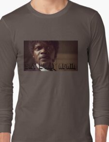 Pulp Fiction Say What Again Jules Long Sleeve T-Shirt