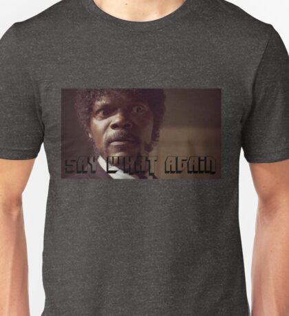Pulp Fiction Say What Again Jules Unisex T-Shirt