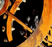 Antique Clock Gears 2 Sticker