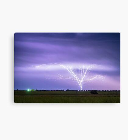 AMAZING Anvil Lightning Creepy Crawlers Canvas Print
