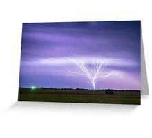 AMAZING Anvil Lightning Creepy Crawlers Greeting Card