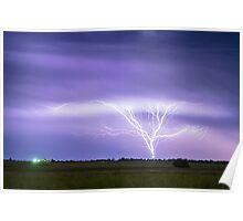AMAZING Anvil Lightning Creepy Crawlers Poster