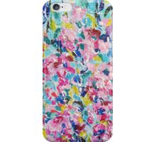 Absract colored painting 12 iPhone Case/Skin