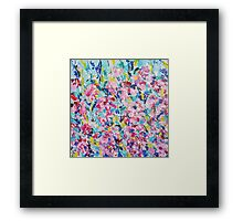 Absract colored painting 12 Framed Print