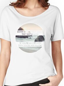 West Coast Women's Relaxed Fit T-Shirt