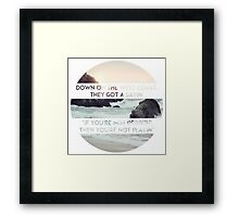 West Coast Framed Print