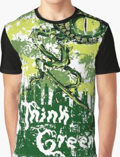 Think Green Graphic T-Shirt