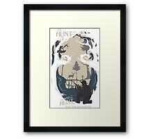 TO HUNT OR NOT TO HUNT Framed Print