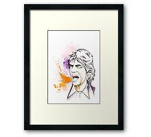 Jagger#4 Framed Print