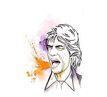 Jagger#4 Photographic Print
