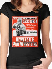 Jack Bonza Champion Edition Women's Fitted Scoop T-Shirt