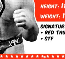 Jack Bonza Champion Edition Sticker