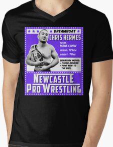 Chris Hermes Champion Edition Mens V-Neck T-Shirt