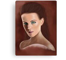 Bengslicaake - Kate Beckinsale Canvas Print