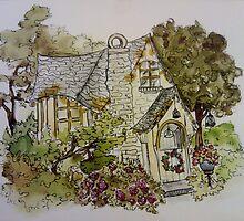 Dreamy Cottage by Eleanor Ruby Jones