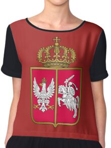 Coat of arms of the November Uprising (1830–1831) Chiffon Top