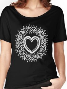 Sacred Heart  Women's Relaxed Fit T-Shirt