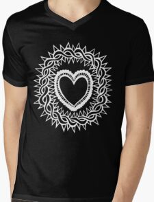 Sacred Heart  Mens V-Neck T-Shirt