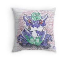 Brachydios Throw Pillow