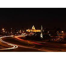Minnesota State Capital at Night Photographic Print