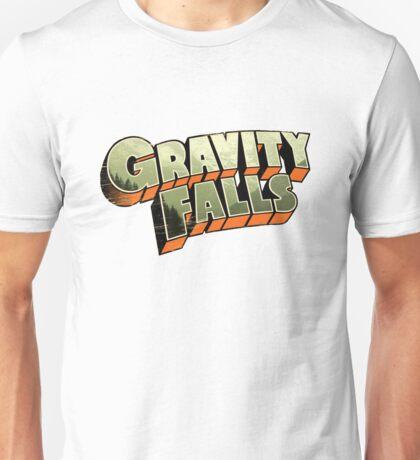 Gravity Falls logo Unisex T-Shirt