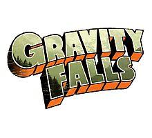 Gravity Falls logo Photographic Print