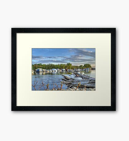 Mississippi Harbor 1 Framed Print