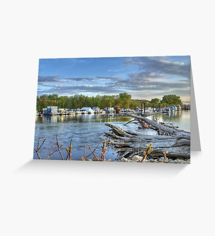 Mississippi Harbor 1 Greeting Card