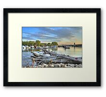 Mississippi Harbor 2 Framed Print