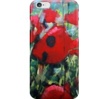Field of Poppies. Painting by Samuel Durkin iPhone Case/Skin