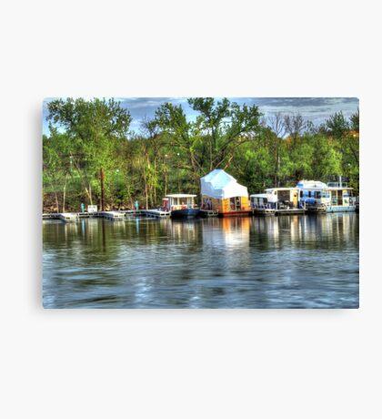 Mississippi Harbor 3 Canvas Print