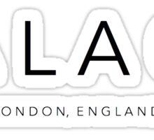 Palace Band Sticker