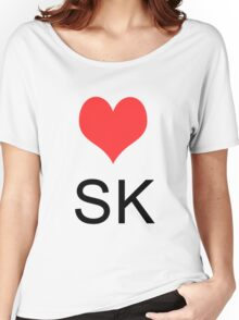 Love Slovakia Women's Relaxed Fit T-Shirt
