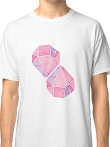 Simple Pink Diamond Mosaic Classic T-Shirt