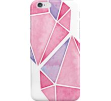 Simple Pink Diamond Mosaic iPhone Case/Skin