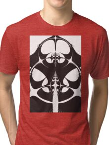 Monochrome Spine Tri-blend T-Shirt