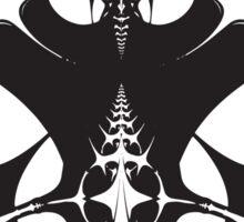 Monochrome Spine Sticker