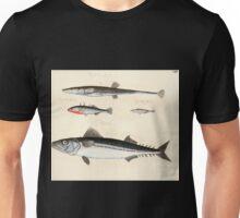 Naturgeschichte in Bildern mit erläuterndem Text E Strack 1820 Lief 4 Fish 059 Unisex T-Shirt